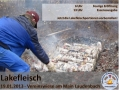 Flyer Lakefleisch 2013